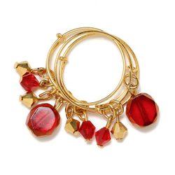 Trío de anillos de la colección Navidad 2011 de Alex and Ani