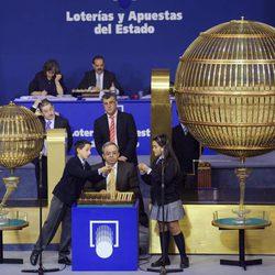 Sorteo de la Lotería de Navidad en Madrid