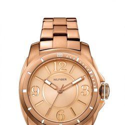 Reloj de mujer en acero chaparo en oro rosa de Tommy Hilfiger? Watches