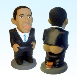 Caganer de Obama