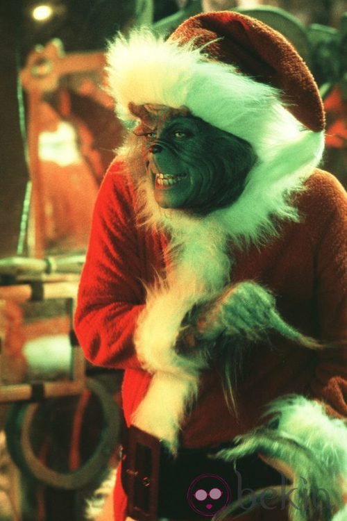 El Grinch se disfraza de Papá Noel para robar la Navidad