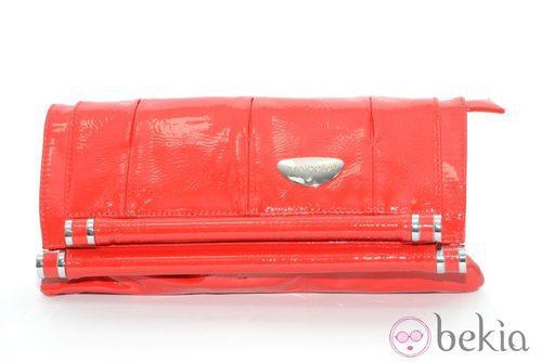 Cartera de mano de charol rojo de Meigallo para esta navidad 2012