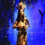 La Princesa Disney Pocahontas vestida por Roberto Cavalli