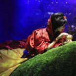 La Princesa Disney Blancanieves vestida de Oscar de la Renta