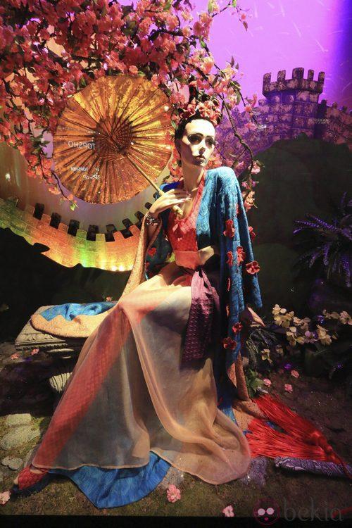 La Princesa Disney Mulán vestida de Missoni