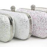 Miniclutches estampados de la colección Navidad 2013 de Loeds