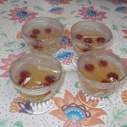 Paso 5: Tapar las copas con film transparente antes de meterlas en la nevera