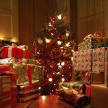 Regalos en el día de navidad