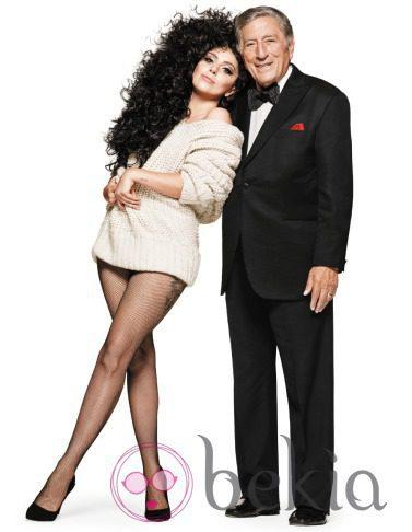 Lady Gaga y Tony Bennett, cariñosos en su último trabajo para la campaña de Navidad de H&M 2014