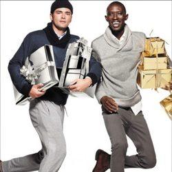 Jerséis de cuello vuelto para hombre de la nueva campaña navideña 2014 de H&M