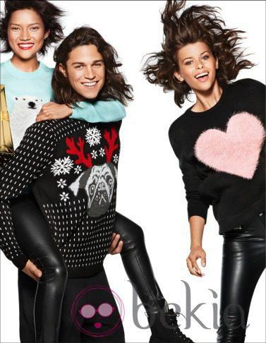 Adornos de Navidad de la nueva campaña navideña 2014 de H&M