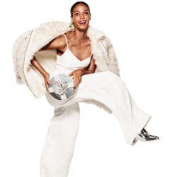 Mono blanco de la nueva campaña navideña 2014 de H&M