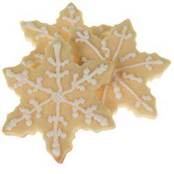 Galletas de mantequilla con forma de estrellas de Navidad