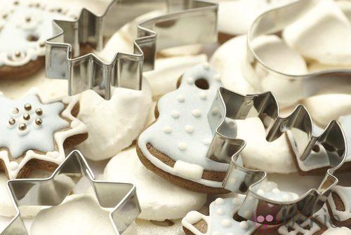 Moldes para hacer galletas de Navidad