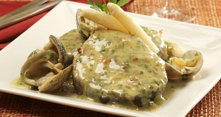 Pescados para el menú de Navidad: Merluza en salsa verde