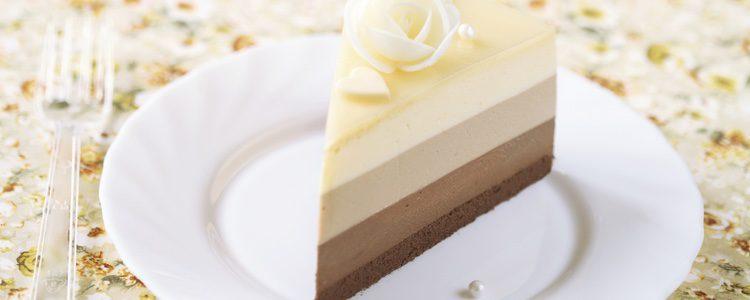 Un dulce delicioso listo para servir[