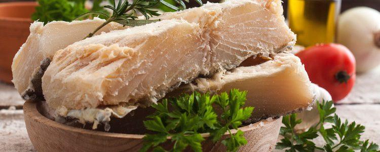 El bacalao, principal ingrediente de la receta
