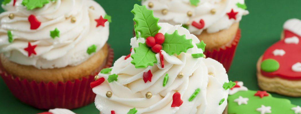 Postres de Navidad: Cupcakes de Navidad