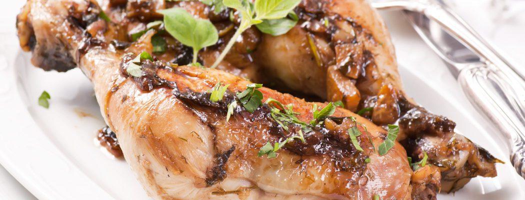 Carnes de Navidad: Muslos de pavo cocidos