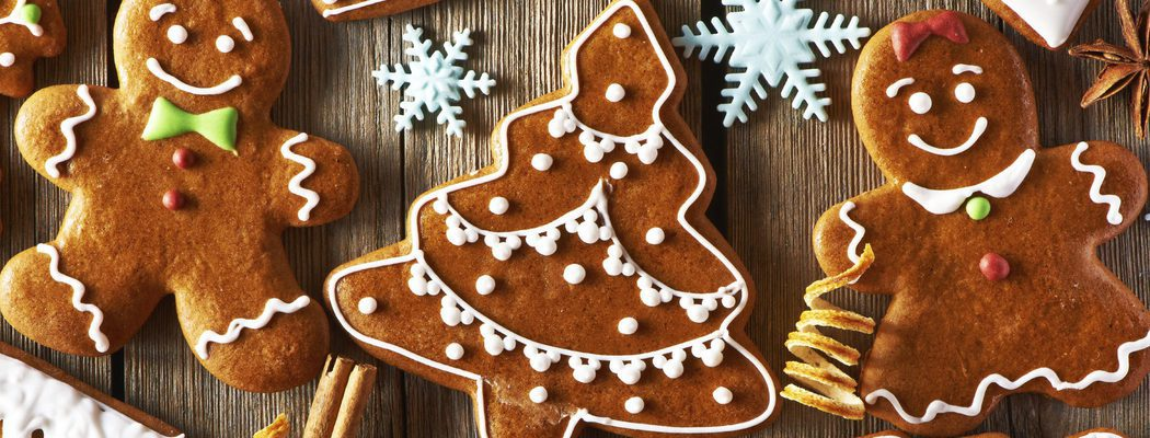 Postres de Navidad: Galletas de jengibre