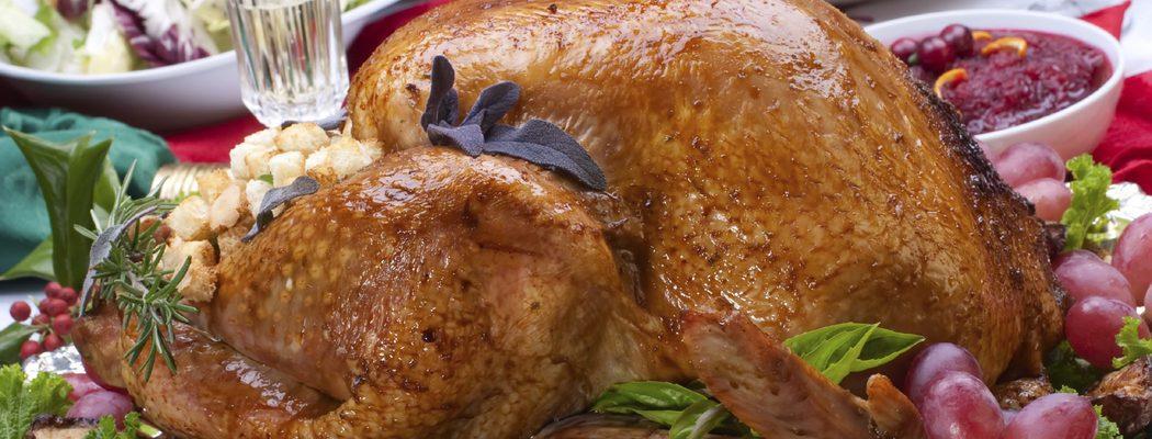 Aves de Navidad: capón relleno