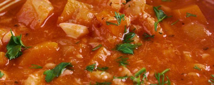 El pescado ajoarriero es un plato típico de Aragón
